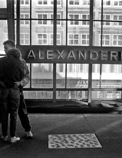 ALEXANDERPLATZ 1989
